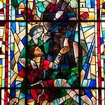 father Damian,pater Damiaan,p�re Damien,leuven sint antonius kerk,glasraam