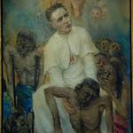 father Damian,pater Damiaan,p�re Damien,leuven sint antonius kerk
